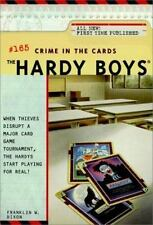 Crime in the Cards (The Hardy Boys #165)-ExLibrary