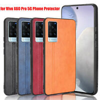 PU Leather Case Phone Cover Back Shell for Vivo X60 Pro 5G Phone Protector
