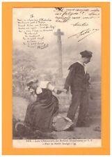 MARIN-MATELOT de BRETAGNE (29)  Départ de PIERRIC pour TOULON / BOTREL en 1902