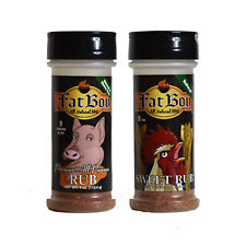Fat Boy Natural BBQ Top Two Rub Combo Package 4 oz