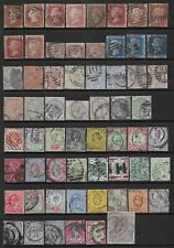 Collection of mixed used GB stamps, QV-EdVII.