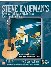 Steve Kaufman's Favorite Traditional Fiddle Tunes Play GUITAR MUSIC BOOK