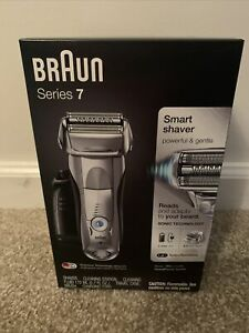 Braun Series 7 790cc Rechargeable Electric Shaver - Silver
