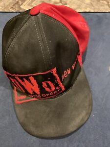 Vintage WCW NWO Wolf Pack Hat Nwot wrestling WWE WWF NWA Used
