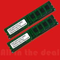 16GB 2x 8GB DDR3 1333MHz PC3-10600 DESKTOP Memory Non ECC 1333 Low Density RAM