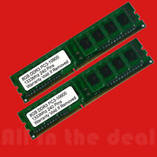 16GB 2x 8GB DDR3 1333MHz PC3-10600 DESKTOP Memory Non ECC 1333 Low Density RAM