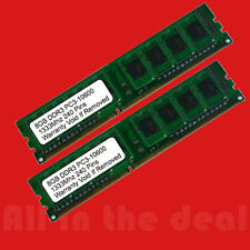 16gb Kit 2 x 8GB DDR3 PC3-10600 1333Mhz DESKTOP MEMORY 240 PIN Non-ECC RAM CL 11