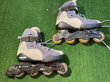 Abec 5 Roller Blades Ultra Wheels Inline Skates Adjustable Men's Size 6-8 #Y650