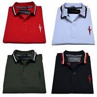 Polo Cesare Paciotti Uomo Men t-shirt 100% Monte Carlo Italy Fashion