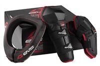 Adult EVS Motorbike Armour Kit Neck Brace Knee Elbow Guards Braces Protection