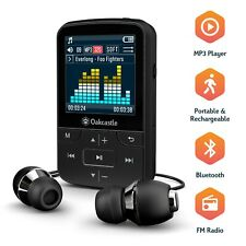 Oakcastle 8GB MP3 Player with Bluetooth, Long life battery, SD Card Slot, Clip