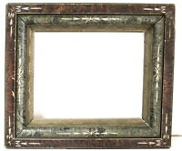 ANTIQUE 19c VICTORIAN EASTLAKE AESTHETIC  FRAME FOR PAINTING 10 X 8 INCH  (b-7)