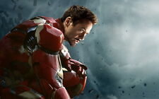 "061 Age of Ultron - Iron Man Captain America Hulk Movie 22""x14"" Poster"