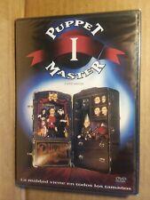 Puppet Master 1 Full Moon DVD brand new sealed horror movie