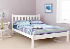 FASTRAK FRIENDSHIP MILL SHAKER 5FT KINGSIZE LOW FOOT END BED FRAMES WHITE