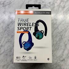 Plantronics Backbeat Fit 3150 True Wireless Sport Earbud Earphones Blue/Black