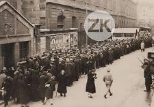 PARIS 3e Arrt SOUPE POPULAIRE Social Rue Mur Affiche Cirque Medrano Photo 1920s