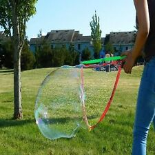 NEW Giant Bubble Maker Big Bubble Wand Outdoor Play Game Fun Free Fast Shipping