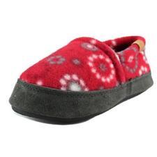 Chaussures rouges en toile pour fille de 2 à 16 ans