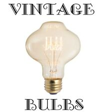 OIL LANTERN STYLE ~ E26 Medium Base ~ 40 Watt ~ NOSTALGIC ANTIQUE FILAMENT BULB