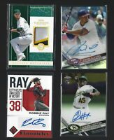 (10) cards  ROOKIE AUTOGRAPH RELIC LOT , Numbered,Parallel,Refractor
