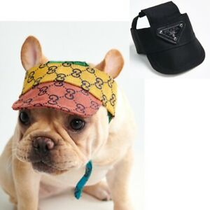 Dog Designer Baseball Cap Hat for Pet Dogs & Puppies Accessories XS-4XL