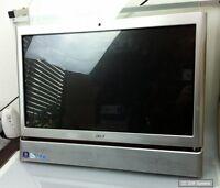 """Ersatzteil: Acer Aspire Z5610, Z5600 Touchscheen 23"""" Monitor mit Rahmen, Display"""