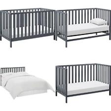 Child Baby Nursery Crib Convertible Toddler Full Size Bed Daybed Multiple Colors