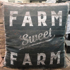 Farm Sweet Farm -- Throw Pillow- Two Sided-Primitives By Kathy