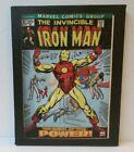 "Artissimo Marvel INVINCIBLE IRON MAN #47 Comic Cover 6.5"" X 8.5"" Canvas Wall Art"