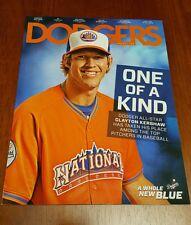 RARE Dodgers Magazine CLAYTON KERSHAW August 2013 Mint All-Star Program