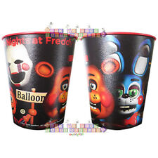 FIVE NIGHTS at FREDDY'S REUSABLE KEEPSAKE CUPS (2) ~ Birthday Party Supplies Red