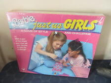 Barbie Just Us Girls Game of Style & Challenge NEW SEALED 1980s