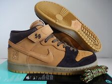 "NIKE SB DUNK MID PRO ""LEWIS MARNELL"" CAPPUCCINO-BRONZE-WHEAT SZ 10 [AJ1445-200]"