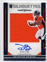 2016 Preferred DEVONTAE BOOKER Rookie RC AUTO AUTOGRAPH JERSEY 87 Denver Broncos