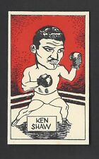 CUMMINGS - FAMOUS FIGHTERS (BOXING) - #8 KEN SHAW