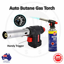 Butane Gas Blow Torch Camping Iron Welding Soldering Fire Lighter Frame Gun
