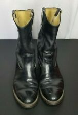 RED WING Pecos Cowboy Boots 9.5 E Leather Western Motorcycle Engineer Boots USA