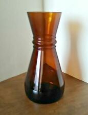 Vintage Crisco Bottle 1970s Brown Glass, Perfect Condition, No Lid