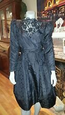 Vintage ANN LAWRENCE Polka Dot Tulle  Sequin  Gown Dress Sz 8 1980's Gorgeous