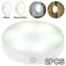 2PCS Touch Control Night Light Bedside Smart Dimmable USB Rechargeable G72