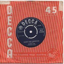 SOUNDS INC. sounds like locomotion*taboo 1962 UK DECCA 45