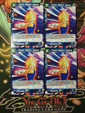 Fusion Reborn Vegeta 4x SD6-02 ST Dragon Ball Super PLAYSET