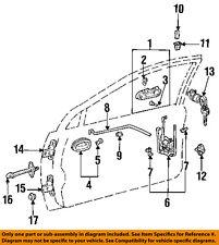 Geo GM OEM 93-96 Prizm-Outside Exterior Door Handle Left 94852496
