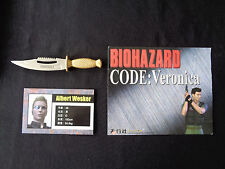 Biohazard Resident Evil Hong Kong Comic Promo mini metal knife 2