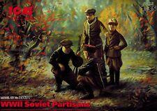 ICM 35631 - WWII Soviet Partisans - russische Partisanen - 1:35