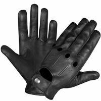 PERRINI PREMIUM Genuine Lambskin Leather Vented Summer Driving Gloves S-2X