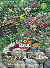 Blumenmischung niedriger Blumenmix SP. Blütenteppich Saatgut Saat Blitzversand