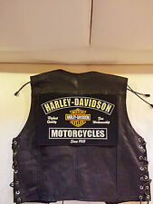 HARLEY Davidson Back Patch fine workmanship 32x21cm tonaca Biker Chopper MC