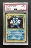 Pokemon PSA 10 (I T A L I A N) Poliwrath Holo Base Set #13/102 Gem Mint